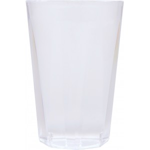 Verres octogonaux transparents 25 cl - lot de 20