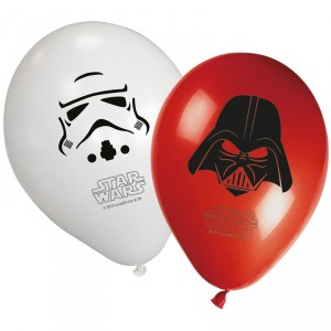 Ballons de baudruche - Star Wars - lot de 8