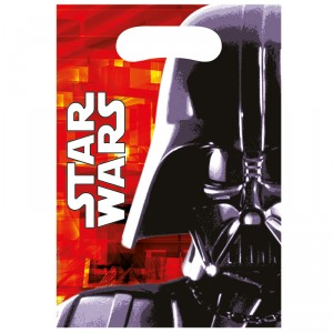Sacs en plastique - Star Wars - lot de 6