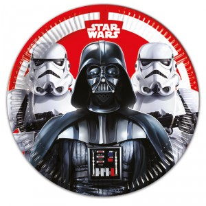 Assiettes - Star Wars - lot de 8