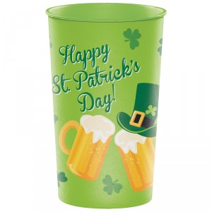 "Gobelet réutilisable ""Happy St Patrick Day's"