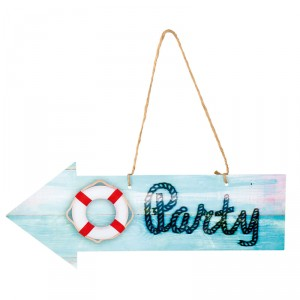 "Pancarte ""Party"" - Navy"