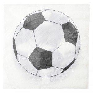 Serviettes - Foot - lot de 20