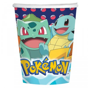 Gobelet - Pokemon - 25 cl - lot de 8