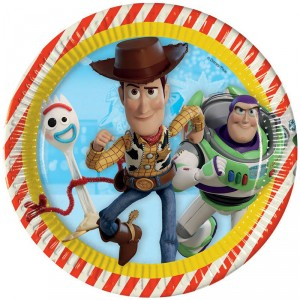Assiettes - Toy Story 4 - lot de 8