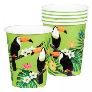 Gobelets - Toucan - lot de 6