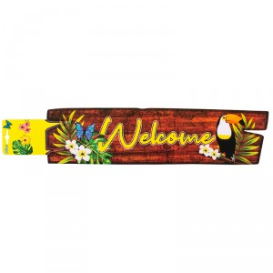 "Pancarte ""Welcome"" - Toucan"