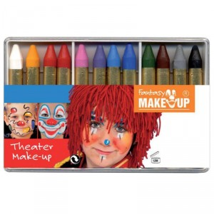 Crayons gras de maquillage - lot de 12