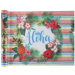 Chemin de table - Aloha - 30 cm x 5 m