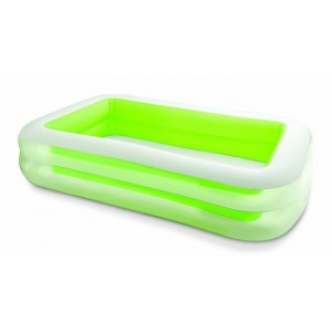 Piscine gonflable rectangle - 2.62 x 1.75 m