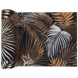 Chemin de table - Jungle pure - 30 cm x 3 m