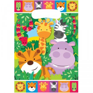 Sacs - Jungle kids - lot de 8