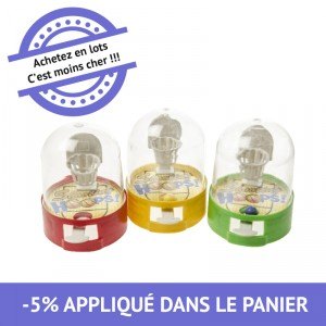 Mini jeu de patience basket - lot de 24