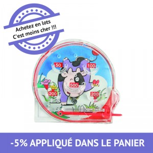 Flipper rond - lot de 48