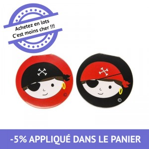 Carnet - Pirate - lot de 48