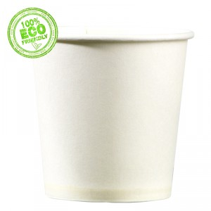 Gobelets en carton - 10-12 cl - lot de 100
