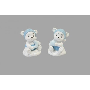 Figurines - Oursons doudou - lot de 2
