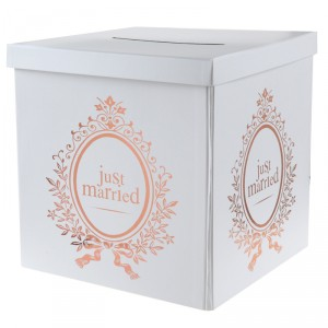 "Cagnotte ""Just Married"" - Rose Gold"