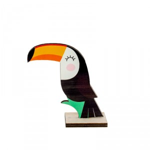 Centre de table - Toucan