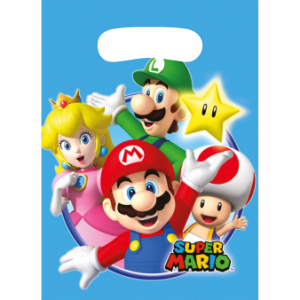 Sacs Super Mario (lot de 8)