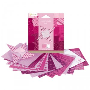 Origami Color - lot de 20 - Rose