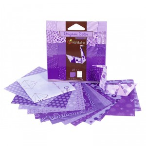 Origami Color - lot de 20 - Violet