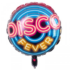 Ballon métallique - Disco Fever - 45 cm