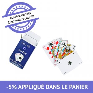 Jeux de 32 cartes - lot de 27