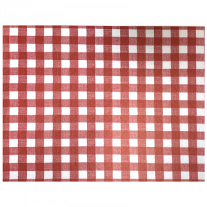 Sets de table papier 30 x 40 cm - Vichy - lot de 100