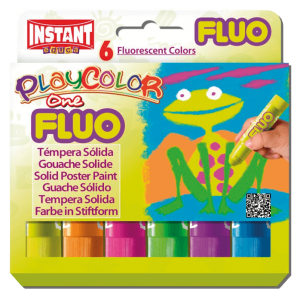 Gouache One fluo (6 sticks)