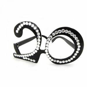 Lunettes Strass - 20 ans