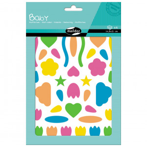 Gommettes - Formes - Maildor Baby - 6 planches