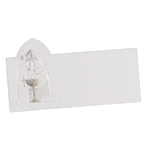 "Cartes de table de communion ""Sainte"" (lot de 10)"