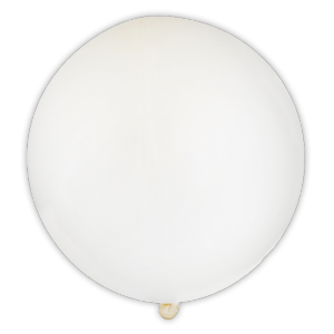 Ballon transparent 23 cm (lot de 8)