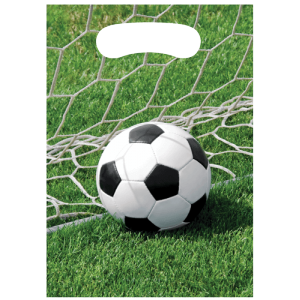 "Sacs cadeau ""Football"" (lot de 8)"