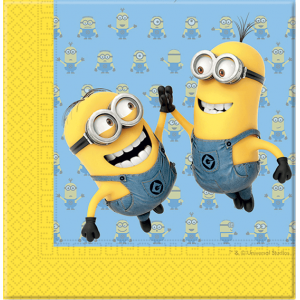 "Serviettes ""Lovely Minions"" (lot de 20)"