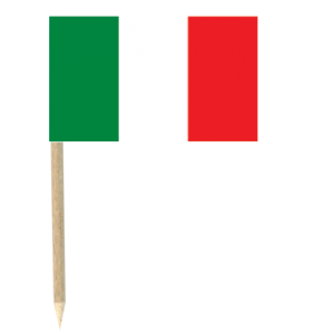 Mini pics drapeau Italie (lot de 50)