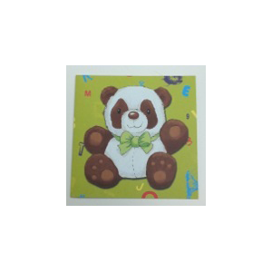 Cartes Panda double (lot de 10)
