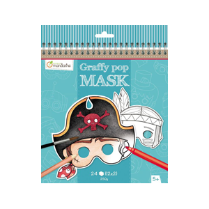 Graffy Pop Mask thème garcons