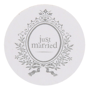 "Confettis de table ""Just Married"" - lot de 50"