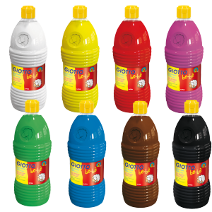 Peintures kid 1 L (lot de 8)