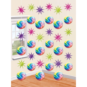 "Ficelles ""Disco Fever"" (lot de 6)"