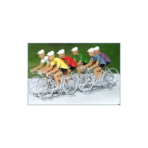 Coureurs cyclistes (lot de 6)