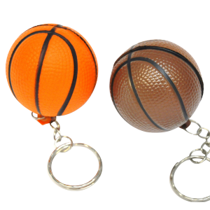 "Porte-clés ""ballon de basket"" (lot de 12)"