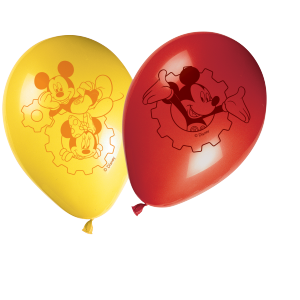 "Ballons ""Mickey"" (lot de 8)"