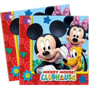 "Serviettes ""Mickey"" (lot de 20)"