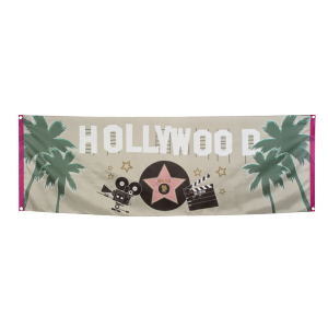 "Bannière ""Hollywood"""