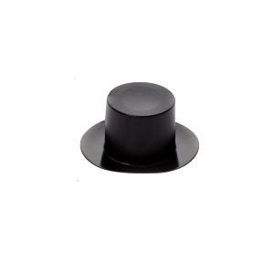 Mini chapeau verrine ( lot de 24 ) - Noir