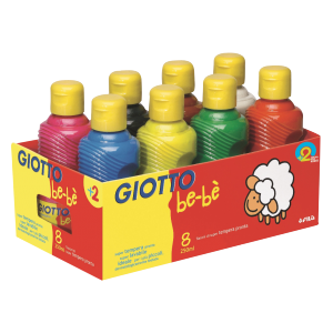 "Gouache Giotto ""KIDS PAINT"" 250 ml ( assortiment de..."