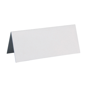 Marque place rectangle 3 x 7 cm ( lot de 10 )